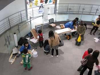 釧路遊学館科学の祭典に音ブースとして出展